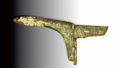 我国古代特有的兵器——青铜戈