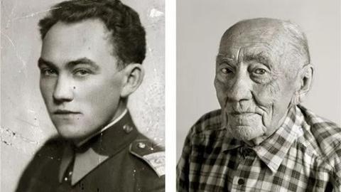 岁月的真谛:百岁老人年轻的时候