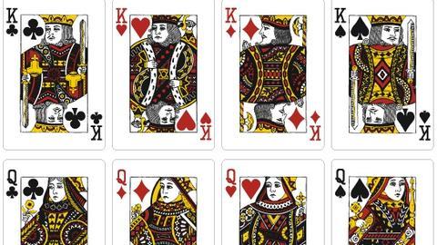 扑克牌里的十二个人物是谁?