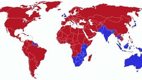 各国开车为何有靠左右之别?