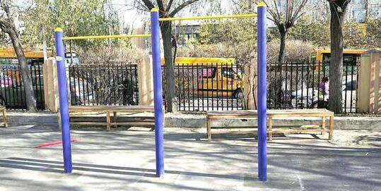 明年中招体育考试增跳绳和引体向上 拆除的单杠回来了