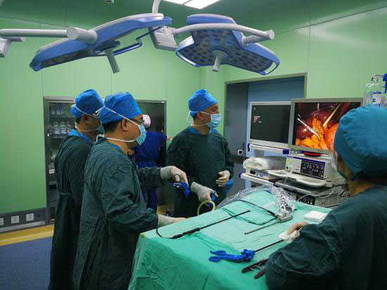 手术次日即出院 哈医大一院开展微创保胆手术