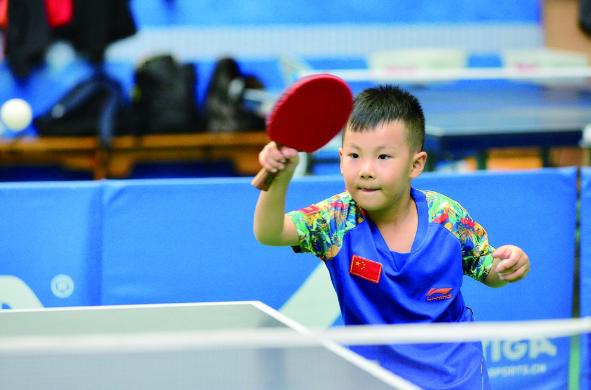 冰城乒乓神童养成记 4岁练球每天泡球馆10小时训练