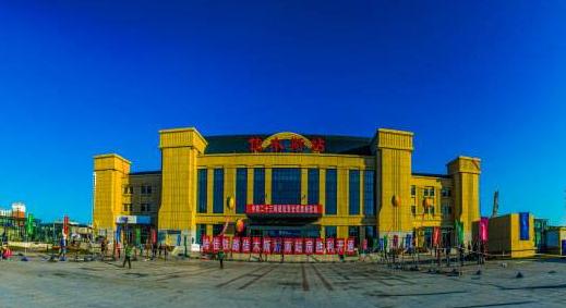 新建哈佳铁路佳木斯火车站站房综合楼改造工程获奖