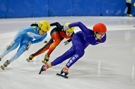 黑龙江省短道联赛第二站