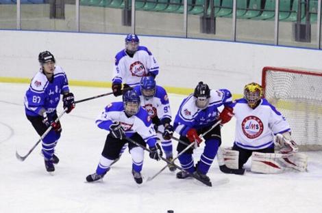 全国20岁以下男子冰球联赛第二站