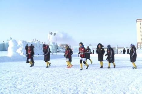 2017年中俄少年儿童雪地足球赛