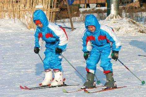 冰雪宝贝青少年冬令营5-8期