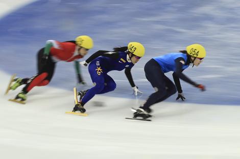 黑龙江省短道联赛第一站