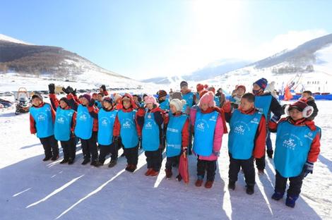 黑龙江省青少年滑雪训练营