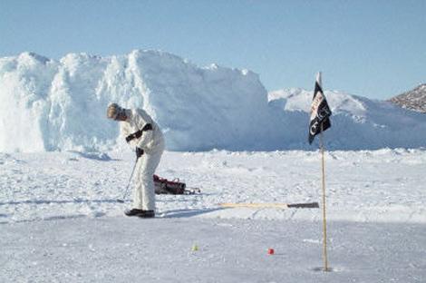 黑龙江省冰上高尔夫球挑战赛