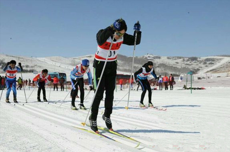 全国越野滑雪青少年锦标赛