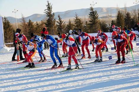 黑龙江省越野滑雪锦标赛