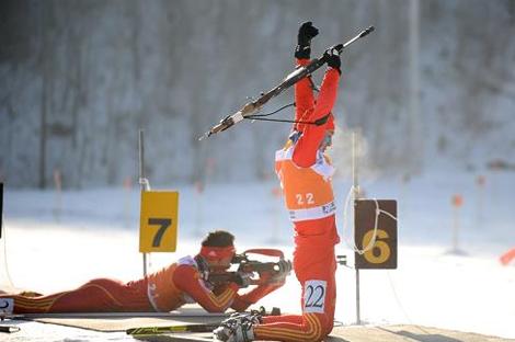 全国冬季两项短距离系列赛第二站