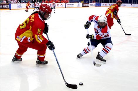 黑龙江省冰球联赛第二站