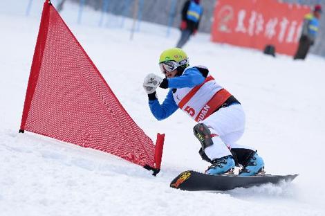 黑龙江省单板滑雪联赛第一站