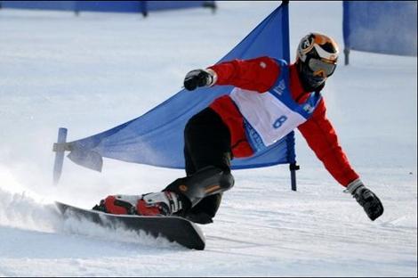 全国单板滑雪平行项目冠军赛