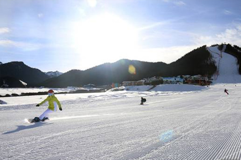 黑龙江省高山、单板滑雪技术等级评定赛