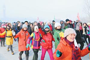 """绥化市""""赏冰乐雪""""系列活动启动"""