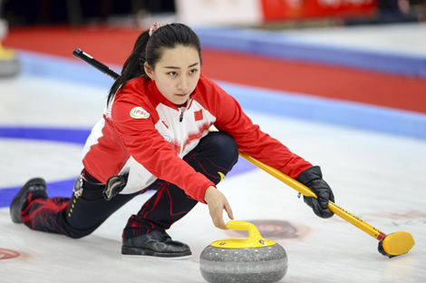黑龙江省冰壶联赛第二站