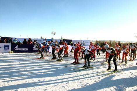 黑龙江省越野滑雪联赛第二站