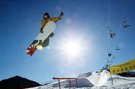 黑龙江省高山、单板滑雪俱乐部精英对抗赛