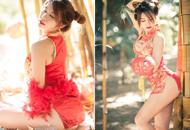 泰国网红穿旗袍太性感引争议