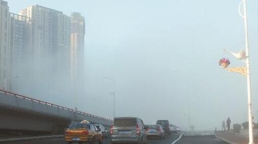 雾让冰城恍若仙境 明起回暖周四最高13℃