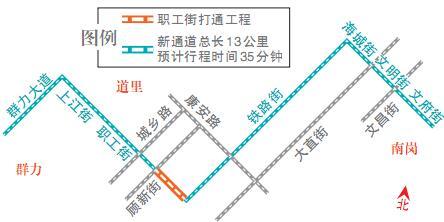 哈市集中力量打通微循环畅通工程 4条通勤线路将疏通