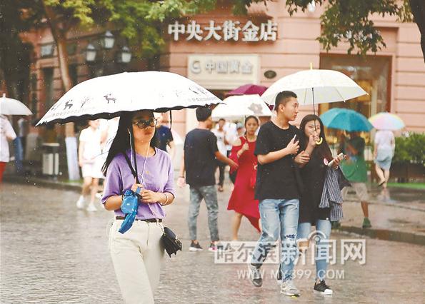未来哈市仍有较强降雨 松花江水位将维持在116米左右