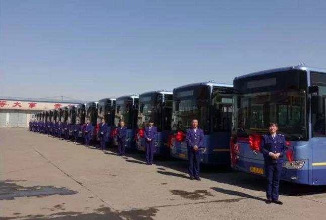 大庆公共汽车公司对23路9路以及部分通勤车调整换型