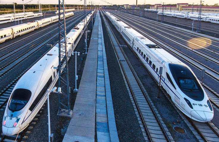 11月1日起哈佳铁路再加开两趟动车组列车