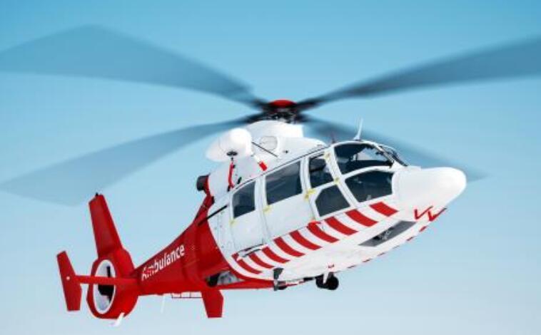 黑龙江省内高速公路救援有了直升机 机舱如同一个ICU