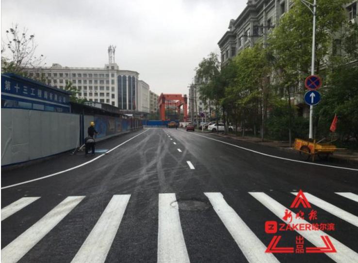 """地铁施工占道""""瘦身"""" 工程街友谊公园路段恢复通车"""
