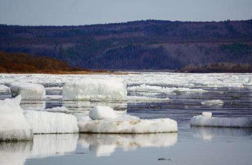 黑龙江干流全线开江 期间上游局部形成冰坝