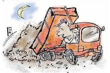 哈市建筑垃圾综合整治:运输车辆将用卫星定位监控