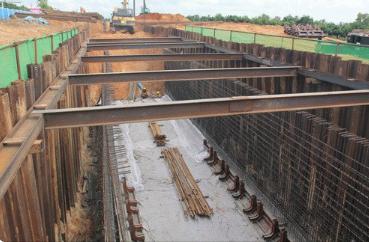 哈尔滨市地下管廊首用盾构技术 冬季也能施工