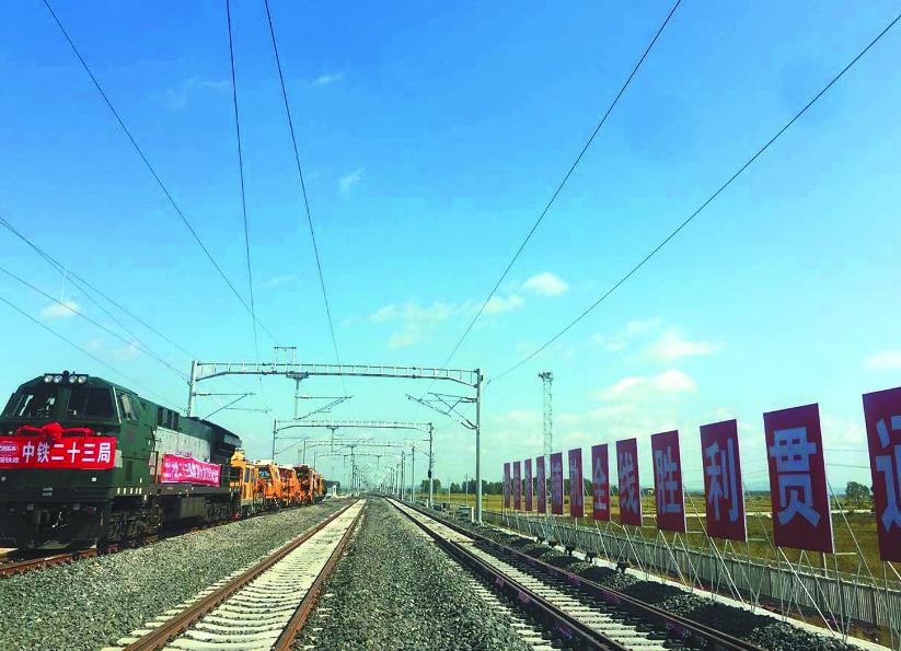 调试持续到8月末 哈佳快速铁路建设加快推进