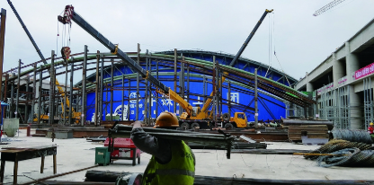 哈站南站房主体混凝土结构完工 全面进入装修阶段