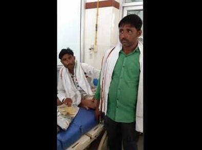 印度患者住院无聊外出散心 孪生兄弟代他抽血吃药