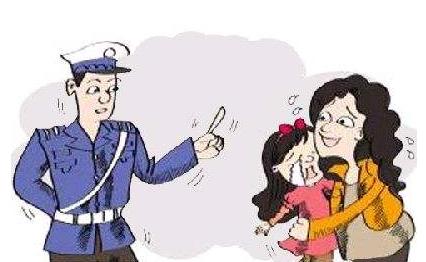 端午前夜哈尔滨一10岁女童走失 仨交警帮找到妈妈