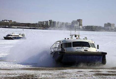 黑河口岸春季气垫船旅客运输开通 运输持续20天左右