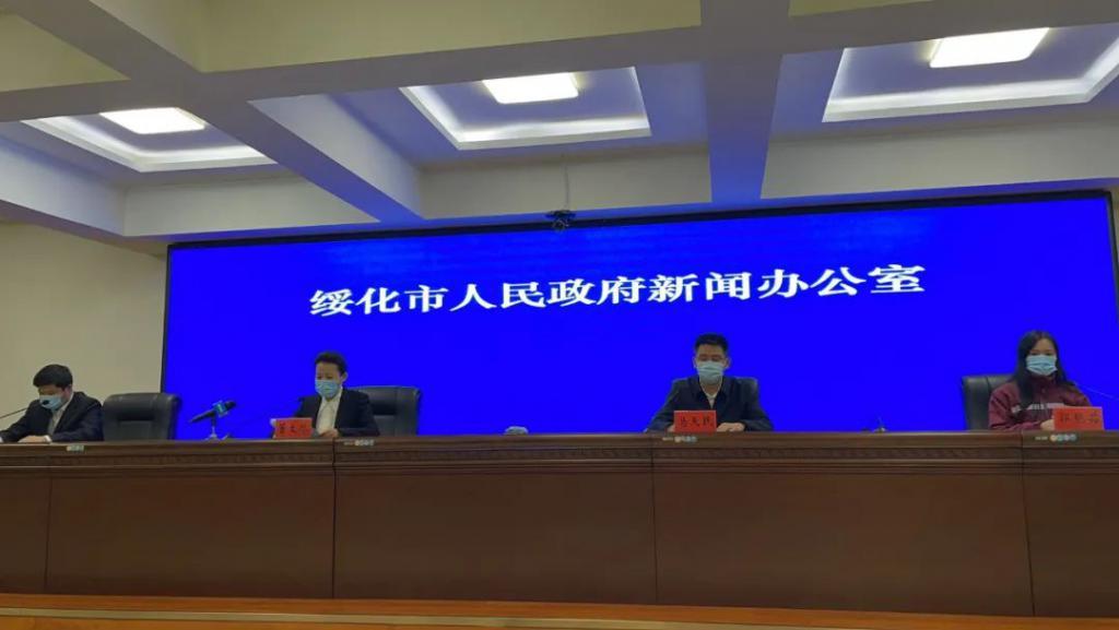 专业队伍支援 截至14日望奎县已完成核酸检测24.7万人