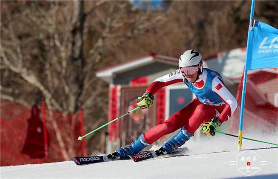 全国高山滑雪冠军赛落幕 黑龙江队收获5金