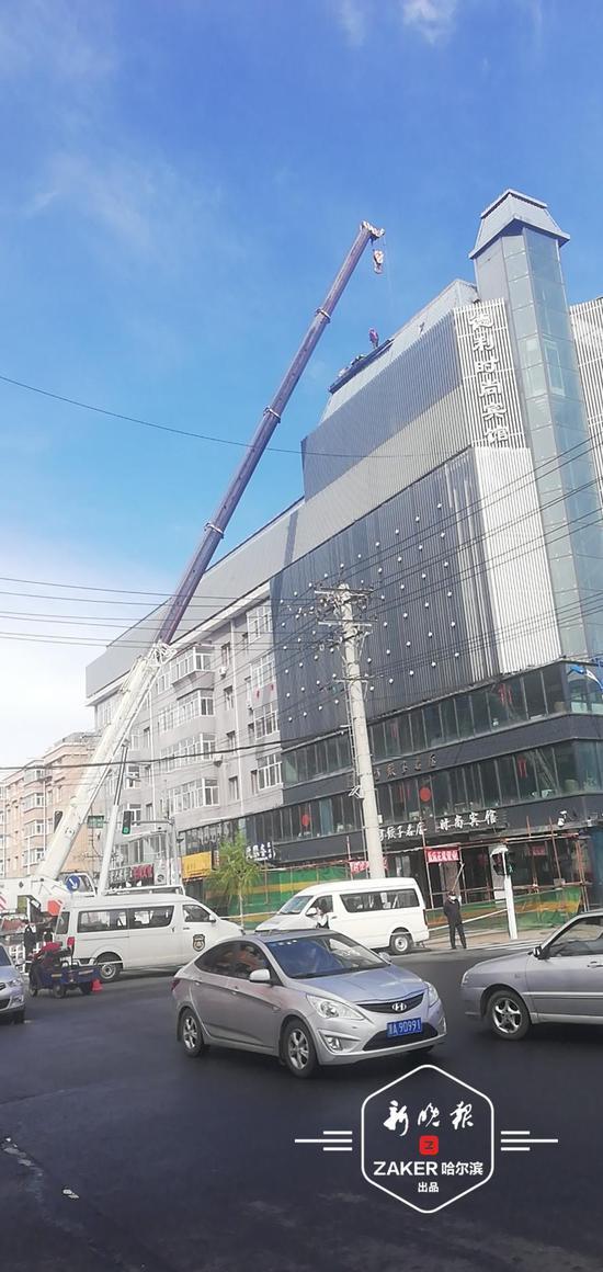 10月25日前 哈市将对存在安全隐患等楼顶违建完成拆除