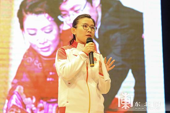平昌冬奥会女子冰壶第五名、中国冰壶女队队长王冰玉。东北网记者 安泽 摄