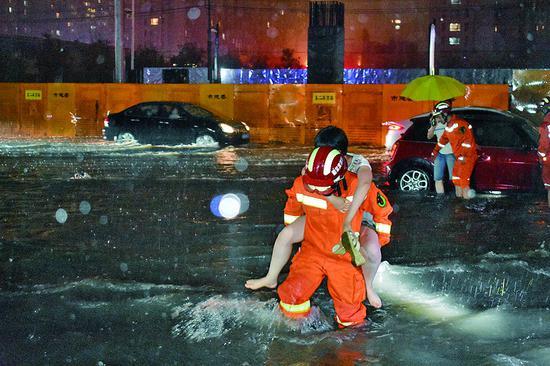 黑龙江现入汛以来最强降水过程 103个乡镇降暴雨