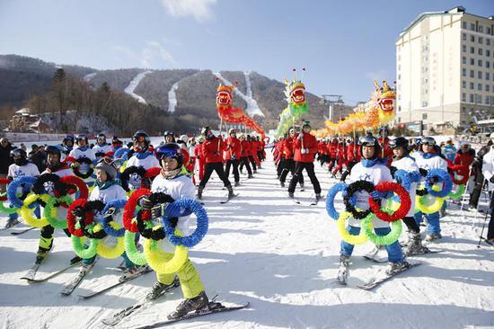 第十七届极速3分快3官方-极速3分快3彩票滑雪节。