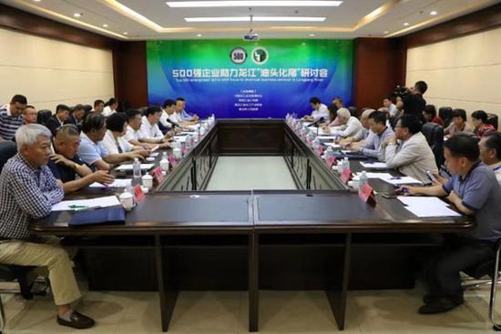 """500强企业助力龙江""""油头化尾""""研讨会在安达市举办"""