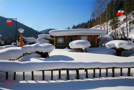 """黑龙江的迎春""""魔法"""":不能错过的春雪美景都在这"""